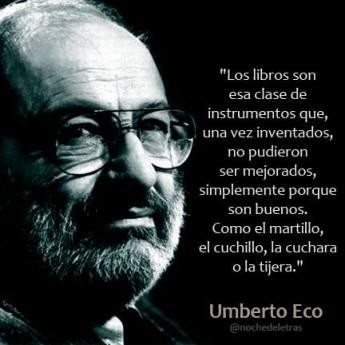 Umberto Eco y los libros