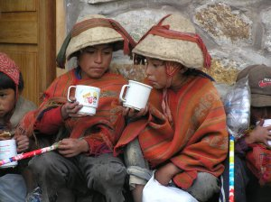 chocolate en el Altiplano (Perú)