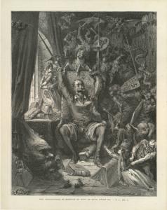 D. Quijote- Ilustración de Gustave Doré
